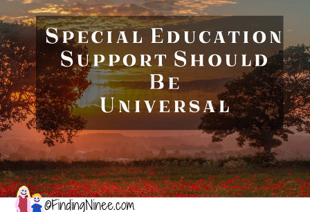 Special Ed Changes Likely In Final >> Special Ed Support Problems Some People Suck Changes I